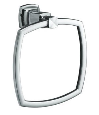 Kohler K-16254-BV Margaux Towel Ring - Polished Chrome