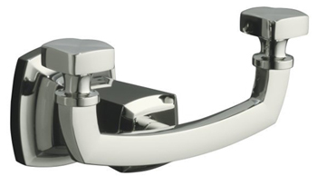 Kohler K-16256-SN Robe Hook - Polished Nickel