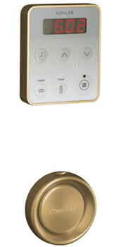 Kohler K-1647-PC-BV Fast-Response Steam Generator Control Kit - Vibrant Brushed Bronze