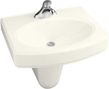 Kohler K 2035 1 96 Pinoir 22 Quot Wall Mounted Lavatory Sink