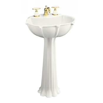 almond kitchen sink pedestal sinks by kohler pegasus and toto 1201