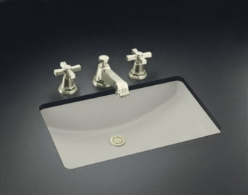 Kohler K-2215-95 Ladena Undercounter Lavatory With Overflow - Ice Grey (Faucet Not Included)