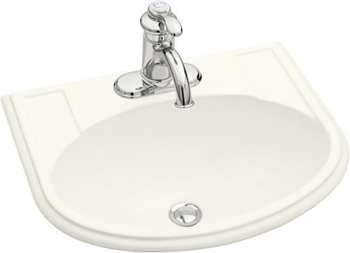 Kohler K-2279-4-96 Devonshire Self-Rimming Lavatory With 4