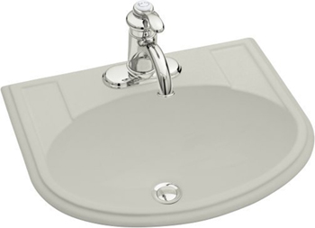 Kohler K-2279-4-95 Devonshire Self-Rimming Lavatory With 4