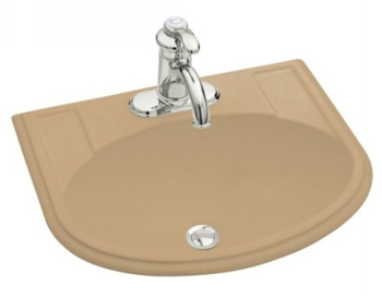 Kohler K-2279-4-33 Devonshire Self-Rimming Lavatory With 4