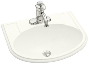 Kohler K-2279-4-0 Devonshire Self-Rimming Lavatory With 4