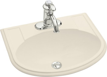Kohler K-2279-8-47 Devonshire Self-Rimming Lavatory With 8