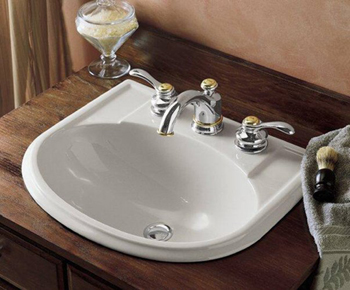 Kohler K-2279-8-0 Devonshire Self-Rimming Lavatory With 8