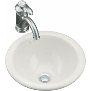 Kohler K-2298-0 Compass Self-Rimming/Undercounter Lavatory - White (Faucet Not Included)