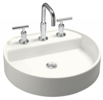 Kohler K-2331-4-0 Chord Wading Pool Lavatory With 4
