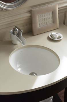Kohler K-2349-47 Camber Undercounter Lavatory - Almond (Pictured in White)