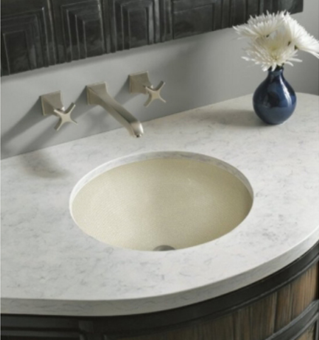 Kohler K-2349-HW Camber Undercounter Lavatory - Boulce Muslin (Faucet and Accessories Not Included)