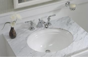 Kohler K 2350 96 Devonshire 17 Quot Undermount Lavatory Sink