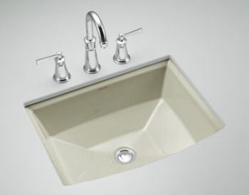 Kohler K-2355-G9 Archer Undercounter Lavatory - Sandbar (Faucet Not Included)