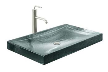 Kohler K-2369-B11 Antilia Wading Pool Lavatory - Ice (Faucet Not Included)