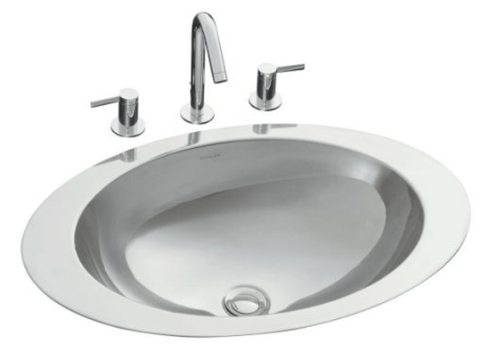 Kohler K-2603-MU-NA Self Rimming Lavatory Sink - Mirror