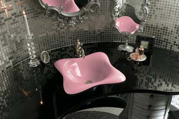 Kohler K-2815-KF Dolce VIta Self-Rimming Lavatory - Vapour Pink