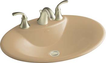Kohler K-2831-4-33 Maratea Self-Rimming Lavatory With 4