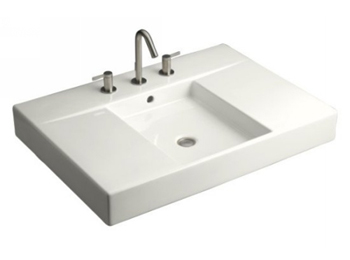tub kitchen sink kohler k 2955 8 0 traverse top and basin lavatory with 8 2955