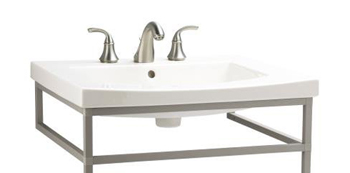 Kohler K-2956-8-0 Persuade Curv Lavatory Console Sink with 8