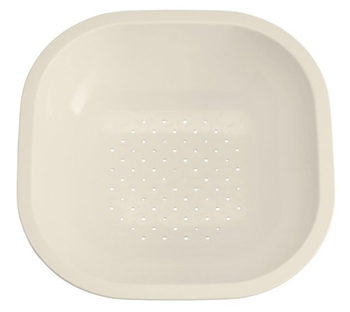 Kohler K-3291-47 FDA Approved Polypropylene Front to Back Basin for Ravinia and Undertone Sinks - Almond