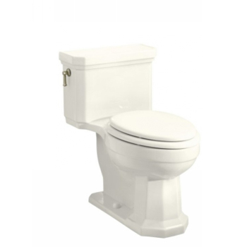 Kohler K-3324-96 Kathryn Comfort Height One-Piece Elongated Toilet, Less Seat - Biscuit