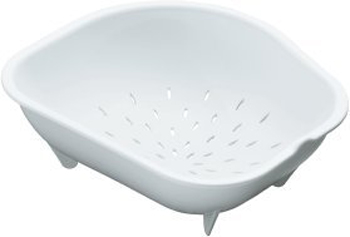 Kohler K-3364-0 Colander for Staccato Large or Medium Sinks - White