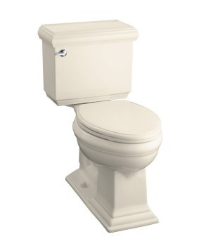 Kohler K-3515-47 Memoirs Comfort Height Elongated Toilet With Classic Design - Almond