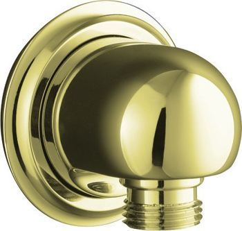Kohler K-355-2BZ Forte Supply Elbow - Oil Rubbed Bronze (Pictured in French Gold)