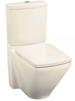 Kohler K-3588-47 Escale Dual Flush Toilet - Almond
