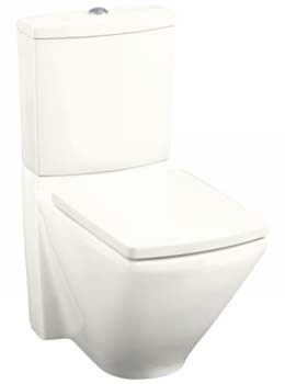 Kohler K-3588-0 Escale Dual Flush Toilet - White