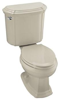 Kohler K-3591-G9 Portrait Combination Toilet - Sandbar