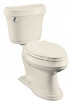 Kohler K-3651-47 Leighton Comfort Height Toilet - Almond