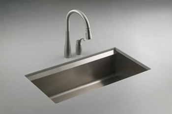 Kohler K 3673 Na 8 Degree Undercounter Single Compartment