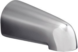 Kohler K-373-BN Devonshire Non-Diverter Bath Spout - Brushed Nickel (Pictured in Polished Chrome)