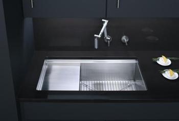 Charming ... Undermount Kitchen Sink With Accessories   Stainless Steel. Kohler  K 3760 NA 33