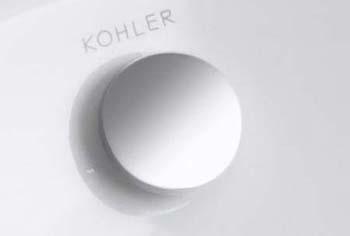 Kohler K 4061 Cp Lavatory Overflow Cap Polished Chrome