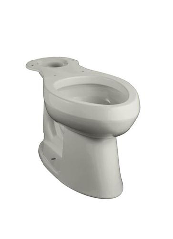 Kohler K-4298-95 Highline Comfort Height Elongated Toilet Bowl - Ice Grey