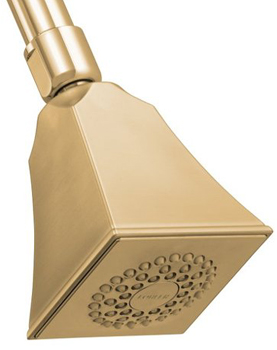 Kohler K-449-BV Memoirs Single Function Showerhead - Brushed Bronze