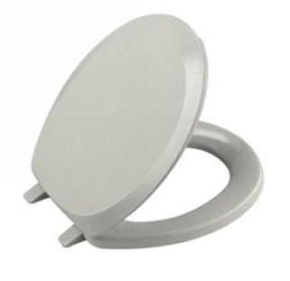 Kohler K-4663-95 French Curve Solid Plastic Toilet Seats - Ice Grey