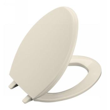 Kohler K-4684-47 Glenbury Solid Plastic Toilet Seat - Almond