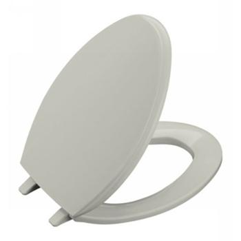 Kohler K-4684-95 Glenbury Solid Plastic Toilet Seat - Ice Grey