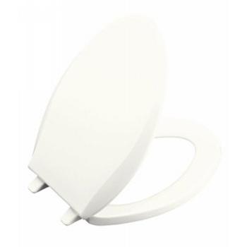 Kohler K-4688-0 Cachet Solid Plastic Toilet Seat - White