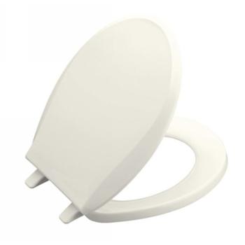 Kohler K-4689-0 Cachet Round Solid Plastic Toilet Seat - White