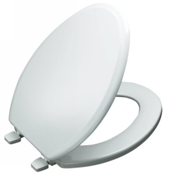 Kohler K-4694-0 Ridgewood Elongated Toilet Seat - White