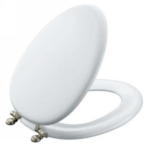 Kohler K 4701 Af 96 Kathryn Toilet Seat With French Gold