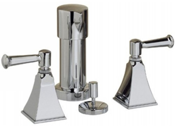 Kohler K-470-4S-CP Memoirs Two Handle Bidet Faucet - Polished Chrome