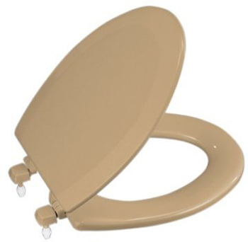 Kohler K-4712-T-33 Triko Elongated Toilet Seat - Mexican Sand
