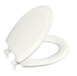 Strange Kohler K 4712 T 0 Triko Elongated Toilet Seat White Machost Co Dining Chair Design Ideas Machostcouk