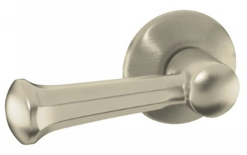 Kohler K-484-RN Memoirs Trip Lever Assembly - Hammered Nickel (Pictured in Brushed Nickel)